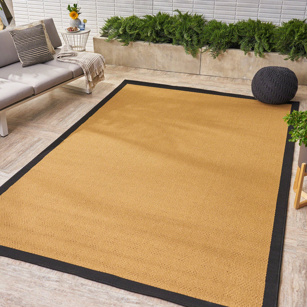 Trinima Indoor/ Outdoor Border 5 X 8 Area Rug