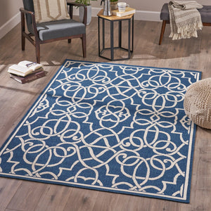 Jaclyn Indoor Geometric 5 X 8 Area Rug