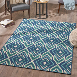 Mercier Indoor Geometric 5 X 8 Area Rug