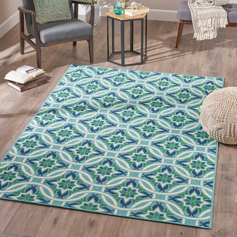 Emmit Indoor Geometric 5 X 8 Area Rug