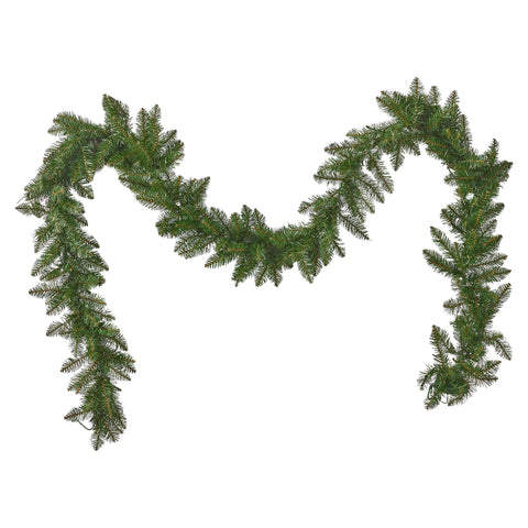 Karina Christmas Garland 9 Pre Lit Dunhill Fir Battery Operated Includes Timer Warm Led Christmas S
