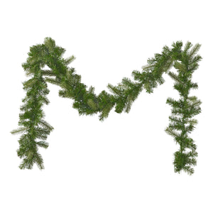 9-Foot Mixed Spruce Pre-Lit Warm White LED Artificial Christmas Garland