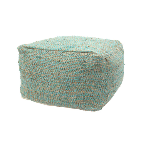 Abbott Large Rectangular Casual Pouf
