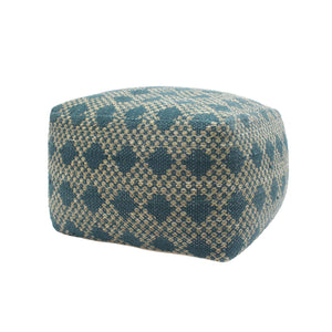 Ovo Indoor Large Rectangular Casual Pouf