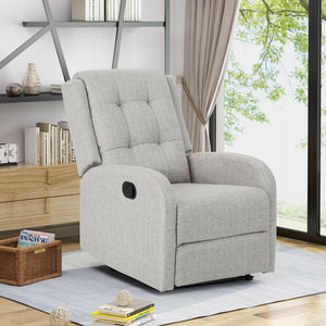 Oceanus Traditional Upholstered Recliner