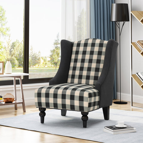 Tinuviel High-Back Fabric Club Chair
