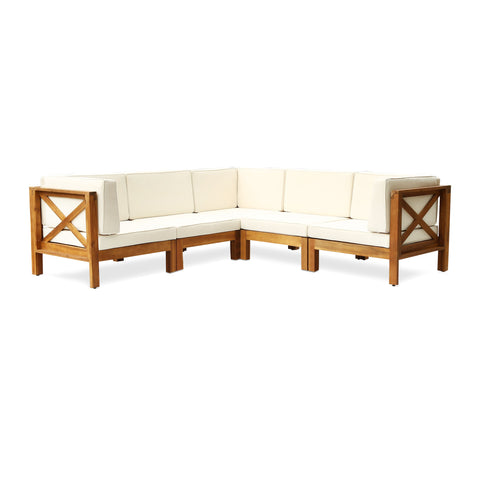 Brannt Outdoor Sectional Sofa Set