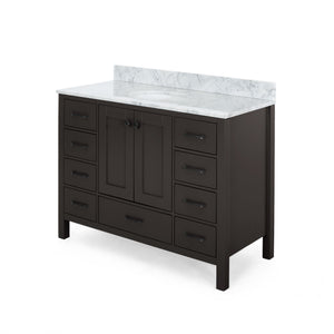 "Lani Contemporary 48"" Single Sink Bathroom Vanity 