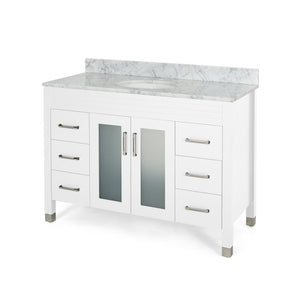 "Hilton Contemporary 48"" Single Sink Bathroom Vanity 