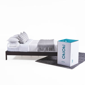 OkiFirm (Memory Foam) | Color: White, Size: Cal King