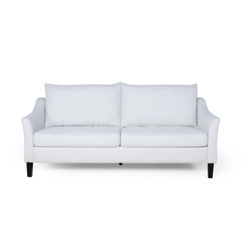 Cosada Contemporary Fabric 3 Seater Sofa | Color: Natural, Color: Beige