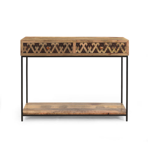 Childress Boho Console Table | Color: Brown
