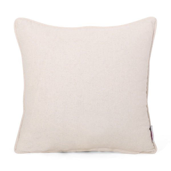 Balfour Modern Throw Pillow | Color: Gray, Quantity: Set of 2, Set of 2: Color, Color: Silver