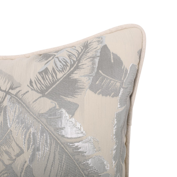 Balfour Modern Throw Pillow | Color: Gray, Quantity: Single, Single: Color, Color: Silver