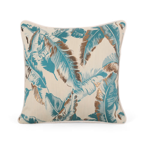 Balfour Modern Throw Pillow | Color: Blue, Quantity: Single, Single: Color, Color: Blue