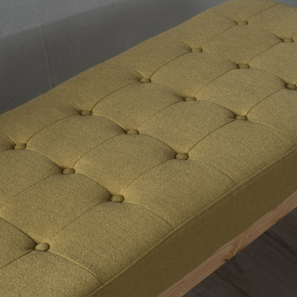Saunders Fabric Bench