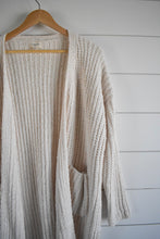 Load image into Gallery viewer, Noelle Cardigan - ivory