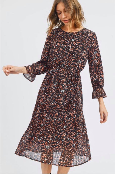 Dot dress - multi