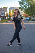 Load image into Gallery viewer, Harper jumpsuit - black