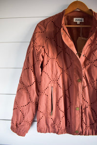 Ginger snap jacket - rust