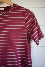 Load image into Gallery viewer, Cora top - burgundy