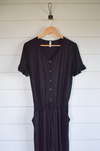 Harper jumpsuit - black