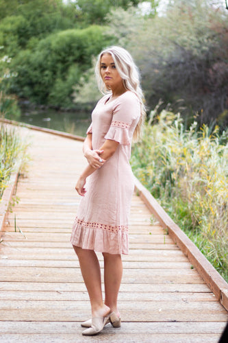 Annie dress - blush