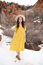 Load image into Gallery viewer, Claire dress - mustard