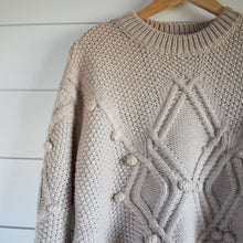 Load image into Gallery viewer, Eliza Sweater - cream