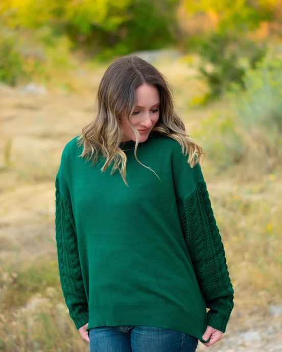 Kenzie Sweater - hunter green