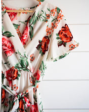 Load image into Gallery viewer, Eden Dress - Ivory Rose