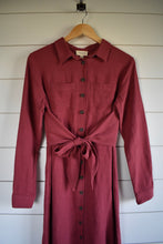 Load image into Gallery viewer, Holly tie dress - marsala