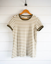 Load image into Gallery viewer, Fawn Top - Olive Stripe