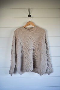 Eliza Sweater - cream
