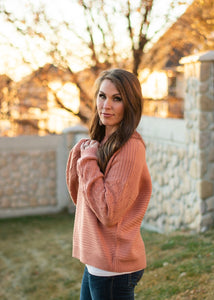 Cayson Sweater - coral