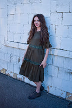 Load image into Gallery viewer, Willow dress - olive