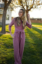 Load image into Gallery viewer, Blakely Jumpsuit - Burgundy