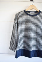 Load image into Gallery viewer, Sawyer stripe top - blue