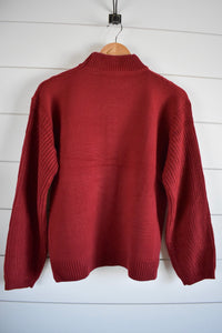 Scarlett Sweater - rust