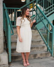 Load image into Gallery viewer, Clara Dress - Cream