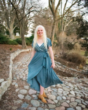 Load image into Gallery viewer, Rosie Dress - Dusty Blue