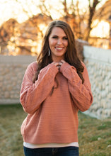 Load image into Gallery viewer, Cayson Sweater - coral