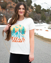 Load image into Gallery viewer, beUTAHful Tee - Ivory