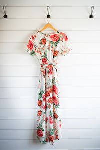 Eden Dress - Ivory Rose