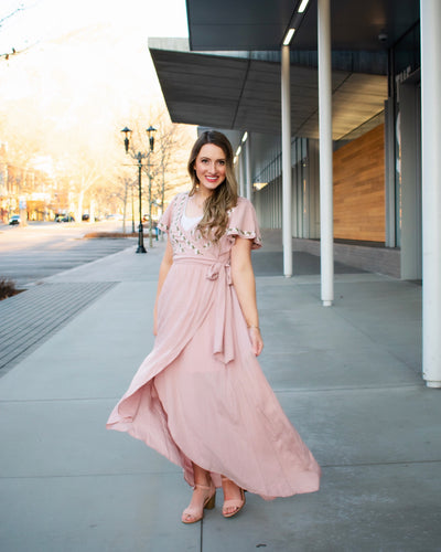 Rosie Dress - Mauve