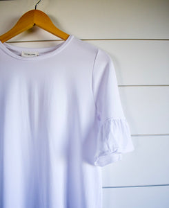 Penny bell top - white