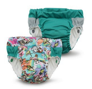 Lil Learnerz Training Pants & Swim Nappy - tokiSweet & Peacock