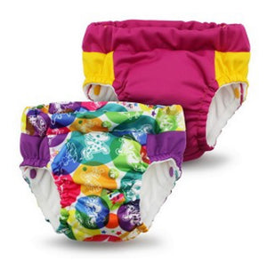 Lil Learnerz Training Pants & Swim Nappy - tokiCorno & Sherbert