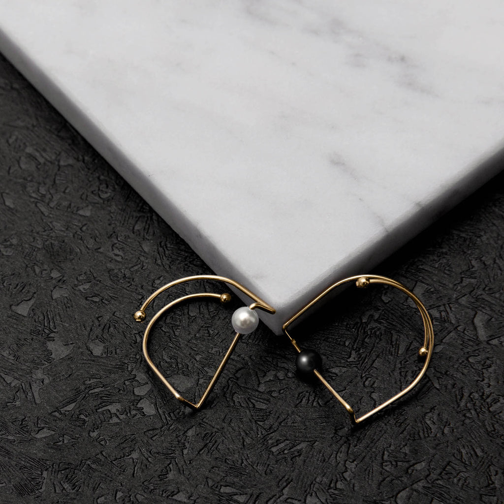 Normcore Geometric Bar Ring (Quick to ship)