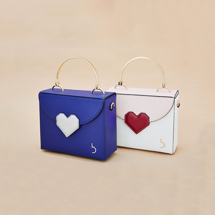 Heart Button Love Box Crossbody Bag - AHED Project